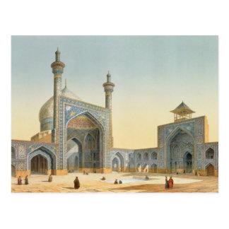 Ansicht des Hofes des Mesdjid-i-Shah, Isfah Postkarte