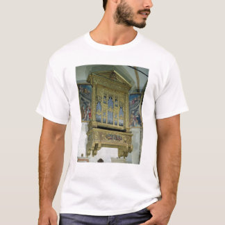 Ansicht des Kirchenorgans, c.1590 T-Shirt
