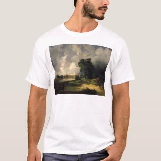 Ansicht des Kremls in schlechtem Wetter, 1851 T-Shirt