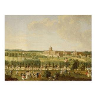 Ansicht des neuen Palastes Postkarten