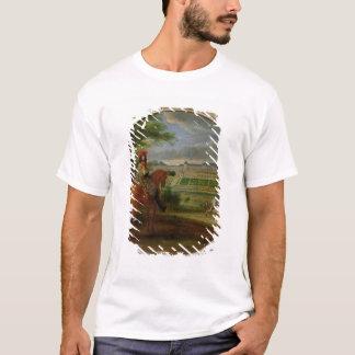 Ansicht des neuen Palastes von Heilig-Germain T-Shirt