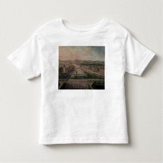 Ansicht des Platzes Dauphine und die Seine Kleinkinder T-shirt