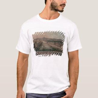 Ansicht des Platzes Dauphine und die Seine T-Shirt