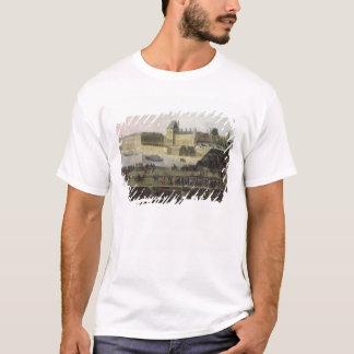 Ansicht des Pont-Neuf und des Flusses die Seine T-Shirt