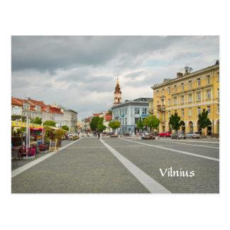 Ansicht des Rathauses, Vilnius Litauen Postkarte