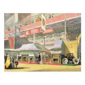 Ansicht des Sheffield-Hardware-Stands und des Postkarte