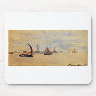 Ansicht des Voorzaan durch Claude Monet Mousepad