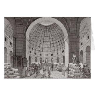 Ansicht des Weizen-Marktes und der Kuppel Karte