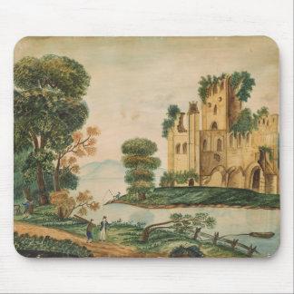 Ansicht eines Schlosses Mousepads