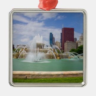 Ansicht Grants Park City Silbernes Ornament