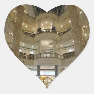 Ansicht-Herz-Aufkleber Taipehs 101 innerer Herz-Aufkleber
