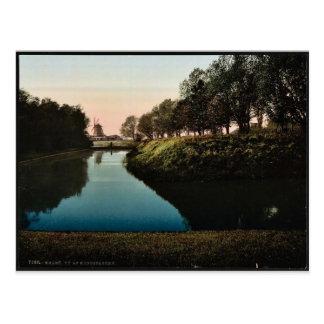 Ansicht in das Kungsparken, Malmö , Schweden Postkarte