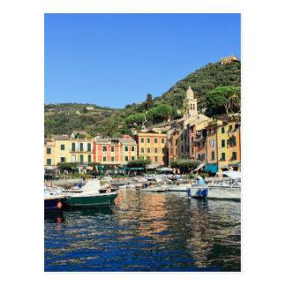 Ansicht in Portofino Postkarte