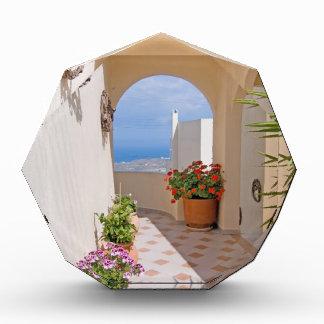 Ansicht in Santorini Insel Auszeichnung
