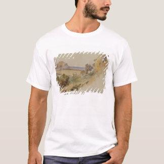 Ansicht nahe Palermo, 1847 (Stift u. Tinte mit w/c T-Shirt