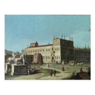 Ansicht Palazzo Del Quirinale, Rom Postkarte
