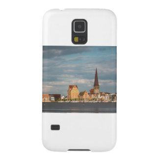 Ansicht über den Fluss Warnow nach Rostock Samsung Galaxy S5 Hüllen