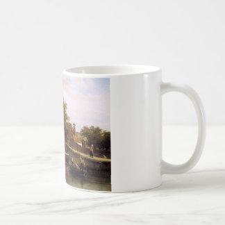 Ansicht über Enkhuizen durch Cornelis-Springer Kaffeetasse