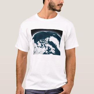 Ansicht über Grönland und den Nordpolarmeer T-Shirt