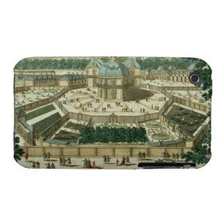 Ansicht und Perspektive des Salons de la Menagerie iPhone 3 Case-Mate Hüllen