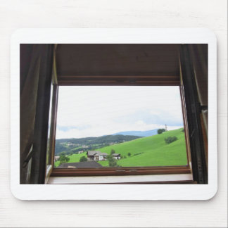 Ansicht vom Fenster Mousepads