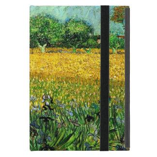 Ansicht von Arles mit Iris im Vordergrund Etui Fürs iPad Mini
