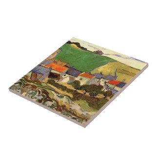 Ansicht von Auvers Vincent van Gogh. Fliese