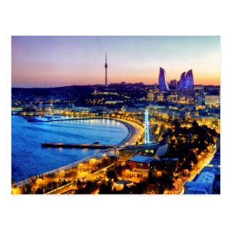 Ansicht von Baku Postkarte