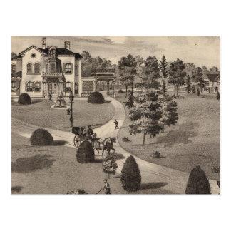 Ansicht von Brattleboro Vermont Postkarte
