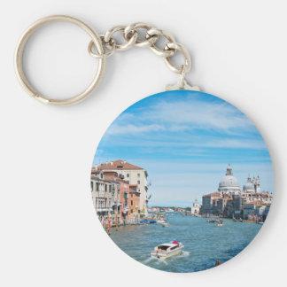 Ansicht von der Brücke in Venedig Schlüsselanhänger