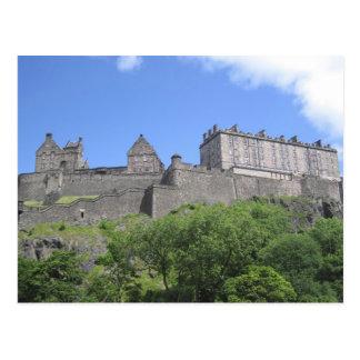 Ansicht von Edinburgh-Schloss, Edinburgh, Postkarte