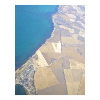 Ansicht von einem Ozean Flyer