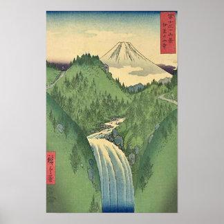 Ansicht von Fuji 22 Poster