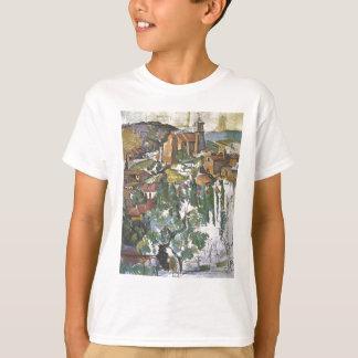 Ansicht von Gardanne durch Paul Cezanne T-Shirt