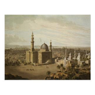 Ansicht von großartigem Kairo, graviert von Daniel Postkarte