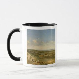 Ansicht von Haarlem von den Dünen (Öl auf Tasse