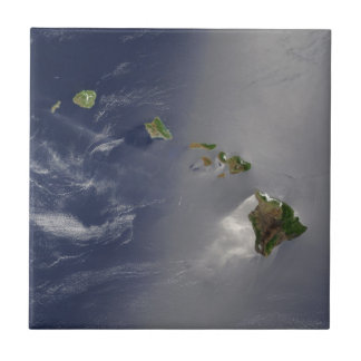Ansicht von Hawaii vom Raum Keramikfliese
