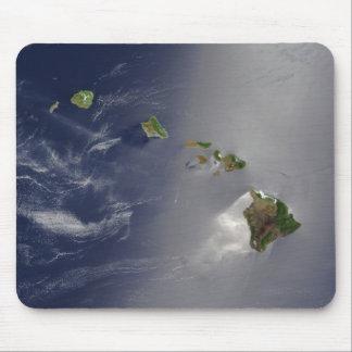 Ansicht von Hawaii vom Raum Mousepad