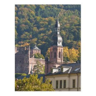 Ansicht von Heidelbergs alter Stadt 2 Postkarten