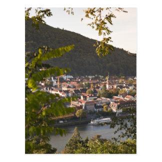 Ansicht von Heidelbergs alter Stadt Postkarten