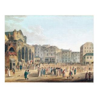 Ansicht von Heilig-Germain-l'Auxerrois, c.1802 Postkarte