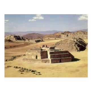 Ansicht von Hügel J, errichtetes c.200 BC Postkarte