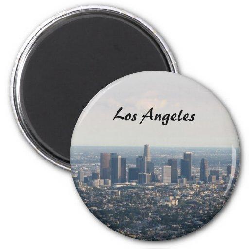 Ansicht von im Stadtzentrum gelegenem Los Angeles Magnete