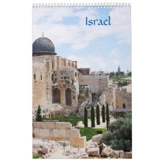 Ansicht von Israel, Kalender 2018