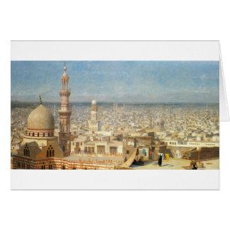 Ansicht von Kairo durch Jean-Leon Gerome Karte