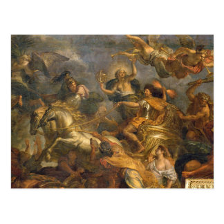 Ansicht von König Taking Maastricht in dreizehn Postkarte