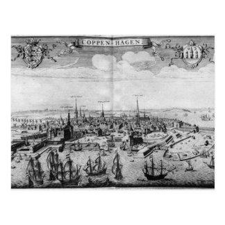 Ansicht von Kopenhagen Postkarte