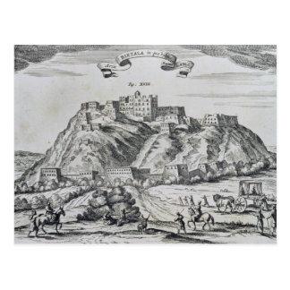 Ansicht von Lhasa, Hauptstadt von Tibet Postkarte