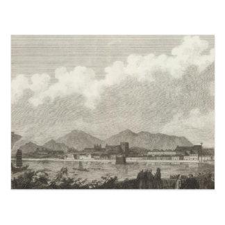Ansicht von Macao in der China Postkarte