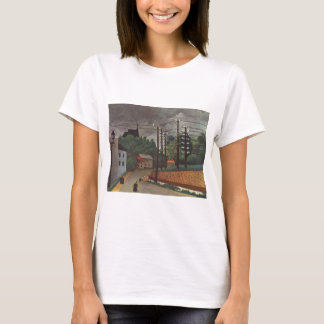 Ansicht von Malakoff Hauts de Seine durch Henri T-Shirt